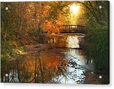 Autumn Over Furnace Run Acrylic Print