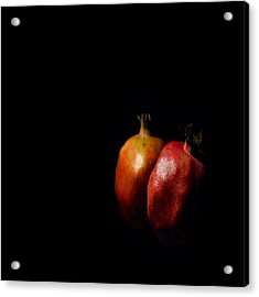 Autumn Pomegranate Acrylic Print