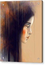 Autumn Portrait Acrylic Print