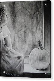 Autumn Rain Acrylic Print by Carla Carson