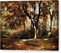 Autumn Repose Acrylic Print