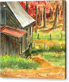 Autumn Retreat Acrylic Print