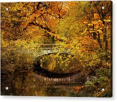 Autumn River Views Acrylic Print by Jessica Jenney
