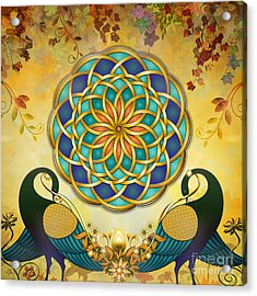 Autumn Serenade - Dawn Version Acrylic Print