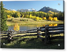 Autumn Serenade Acrylic Print by Eric Glaser