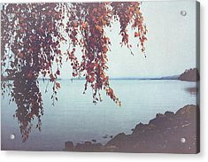 Acrylic Print featuring the photograph Autumn Shore by Ari Salmela