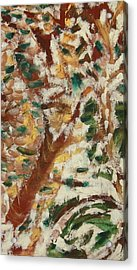 Autumn Snow II Acrylic Print by Patricia Cleasby