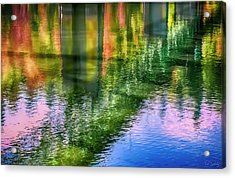 Acrylic Print featuring the photograph Autumn Span  by Dee Browning