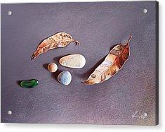 Autumn Still Life Acrylic Print by Elena Kolotusha