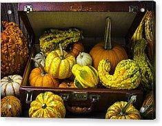Autumn Suitcase Acrylic Print