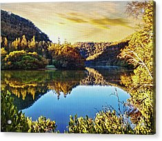 Autumn Sunshine By Kaye Menner Acrylic Print by Kaye Menner