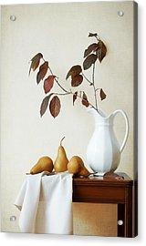 Autumn Tableau Acrylic Print