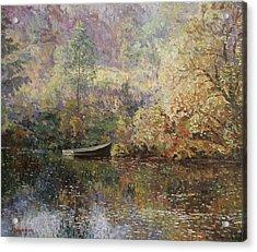 Autumn Tenderness Acrylic Print by Andrey Soldatenko