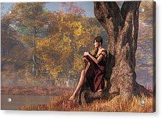 Autumn Thoughts Acrylic Print by Daniel Eskridge