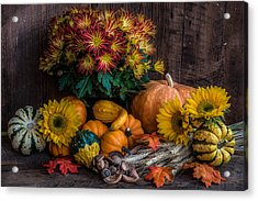 Autumn Treasure Acrylic Print