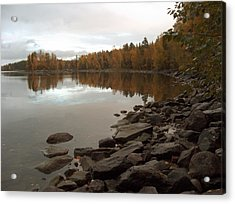 Acrylic Print featuring the photograph Autumn View 5 by Sami Tiainen