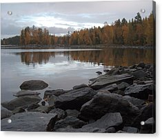 Acrylic Print featuring the photograph Autumn View 6 by Sami Tiainen