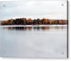 Acrylic Print featuring the photograph Autumn View 7 by Sami Tiainen