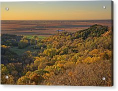 Autumn View At Waubonsie State Park Acrylic Print