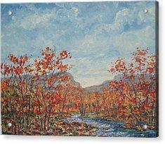 Autumn View. Acrylic Print
