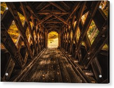 Acrylic Print featuring the photograph Autumn Walk by Robert Clifford