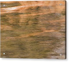 Acrylic Print featuring the photograph Autumn Water by Britt Runyon
