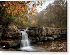 Autumn Water Acrylic Print