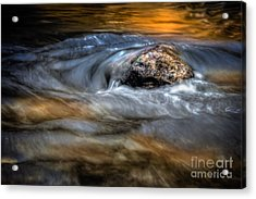 Autumn Waters Acrylic Print
