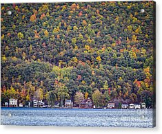Autumn Waterside Acrylic Print