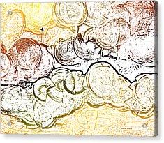 Autumn With Crow 2 Acrylic Print