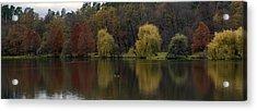 Autumnal Acrylic Print by Mihail Antonio Andrei