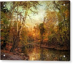 Autumnal Tones Acrylic Print