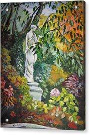 Autumn's Colours Acrylic Print by Alina Blaszczyk
