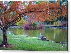 Autumn's Embrace Acrylic Print