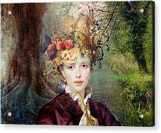 Autumn's Hat Acrylic Print