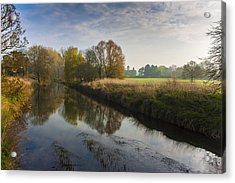 Autumns Mirror Acrylic Print