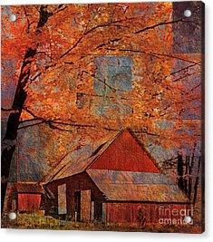Autumn's Slate 2015 Acrylic Print