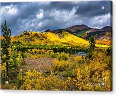 Autumn's Smile Acrylic Print