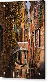 autunno a Venezia Acrylic Print by Guido Borelli