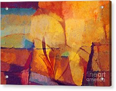 Autunno Stagione Acrylic Print