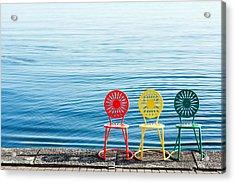 Available Seats Acrylic Print