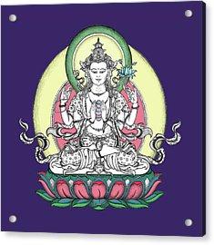 Avalokiteshvara Acrylic Print