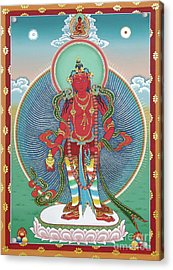 Avalokiteshvara Korwa Tongtrug Acrylic Print by Sergey Noskov