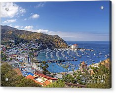 Avalon Acrylic Print by Eddie Yerkish