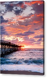 Avalon Pier 9683 Acrylic Print by Dan Beauvais
