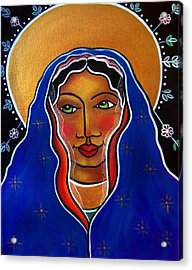 Acrylic Print featuring the painting Ave Maria by Jan Oliver-Schultz