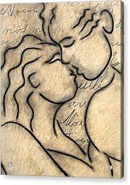 Avec Amour Acrylic Print