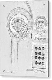 Avedon Master Of The Lens Acrylic Print