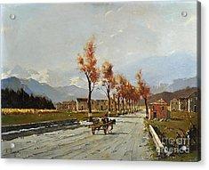 Avellino's Landscape  Acrylic Print