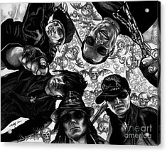 Avenged Sevenfold Acrylic Print by Kathleen Kelly Thompson